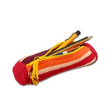 Modell 466/5, Stiftemäppchen aus Baumwollgarn von Junghans-Wolle
