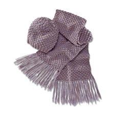 Anleitung 137/4, Damenmütze und Schal aus Winter-Jaspé von Junghans-Wolle