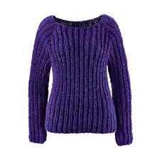 Modell 063/5, Pullover aus Achat von Junghans-Wolle