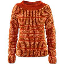 Modell 092/5, Pullover aus Merino-Extrafein und Merino-Supersoft von Junghans-Wolle