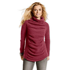 Modell 015/5, Pullover aus Fenella von Junghans-Wolle