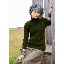 Modell 365/4, Pullover aus Andania von ggh, Modell aus Rebecca Heft 56