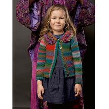 Modell 353/4, Jacke aus Mille Colori Baby und Loop von LANG Yarns