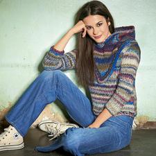 Modell 329/4, Pullover aus Lei Color Mix von Lana Grossa