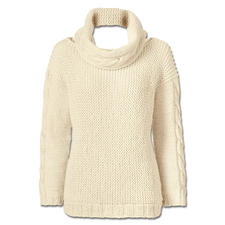 Anleitung 241/6, Pullover mit Loop, 2-fädig aus Peru von Junghans-Wolle
