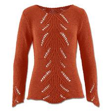 Modell 018/5, Pullover aus Bandana von Junghans-Wolle