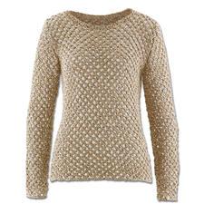 Modell 127/5, Pullover aus Metallico von Junghans-Wolle