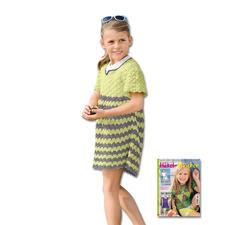 Modell 456/5, Kleid aus Cotton-Superfine II von Junghans-Wolle