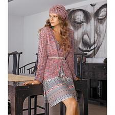 Modell 701/5, Jacke mit Mütze aus Multicolor von Schachenmayr original