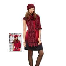 Modell 013/5, Mütze und Schal aus Merino-Classic von Junghans-Wolle