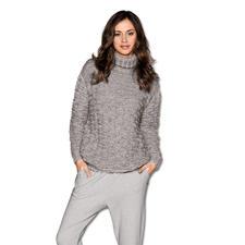 Anleitung 061/5, Pullover aus Achat von Junghans-Wolle