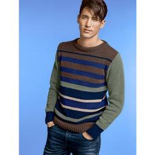 Modell 203/5, Pullover aus Aviso von phildar