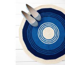 Modell 205/5, Teppich aus Phil Corde von phildar