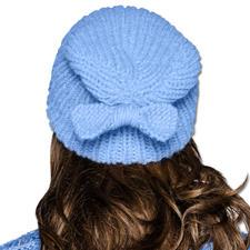Modell 256/5, Mütze 2-fädig aus Merino Dick und Aerea von Junghans-Wolle