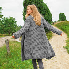Anleitung 222/5, Mantel aus Alta Moda Super Baby von Lana Grossa