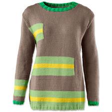 Modell 014/6, Pullover aus Cotonara von Junghans-Wolle