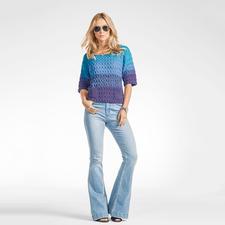 Modell 038/6, Pullover, 2-fädig aus Seidana® von Junghans-Wolle