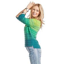 Modell 039/6, Pullover, 2-fädig aus Seidana® von Junghans-Wolle