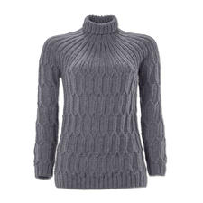 Modell 084/6, Damenpullover aus Muse von Junghans-Wolle