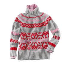 Modell 212/6, Pullover aus Landwolle von Junghans-Wolle