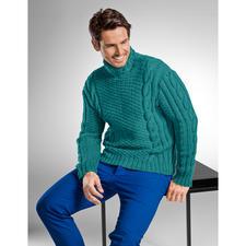 Modell 265/6, Pullover aus Uppland von Junghans-Wolle