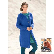 Anleitung 267/6, Damenjacke aus Aparta-Nova von Junghans-Wolle