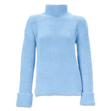 Modell 315/6, Damenpullover, doppelfädig  aus Fluffina von Junghans-Wolle