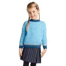 Modell 386/6, Kinderpullover aus Katina von Junghans-Wolle