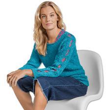 Modell 013/7, Damenpullover aus Varese von Junghans-Wolle
