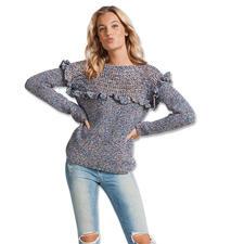 Modell 014/7, Pullover aus Lysander von Junghans-Wolle