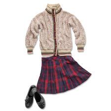 Modell 032/7, Damenblouson aus Trevisa und Dacapo von Junghans-Wolle Modell 032/7, Damenbluson aus Trevisa und Dacapo von Junghans-Wolle