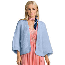 Modell 037/7, Damen-Kimonojacke aus Bandana Wool von Junghans-Wolle