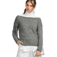 Anleitung 134/7, Damenpullover aus Palazzo von Junghans-Wolle