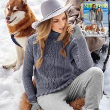 Anleitung 208/7, Damen Pullover aus Muse von Junghans-Wolle