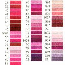Anchor-Sticktwist rosa/pink Sie haben eine riesige Farbauswahl. Coats/Mez ist die führende Qualitätsmarke für Stickgarne.