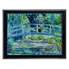 Die japanische Brücke nach Claude Monet