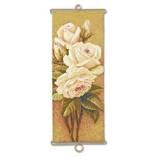 Gobelin-Wandbehänge Trassierte Gobelins –für besonders plastische Stickbilder.