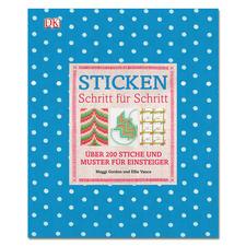 """Buch """"Sticken - Schritt für Schritt"""" Sticken."""