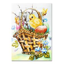 """Grußkarten mit Umschlag """"Ostern"""" Fröhliche Ostern..."""