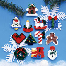 12 Weihnachtsbaumanhänger im Set