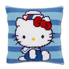 "Stickkissen Hello Kitty ""Matrose"""