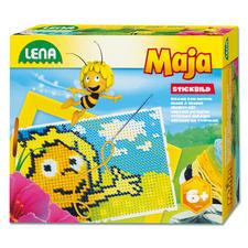 Kinderleichtes Motivsticken - Stickbilder Biene Maja.