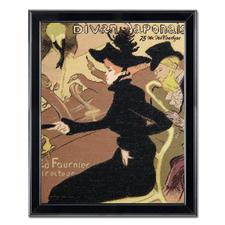 Aristide Bruant nach Henri de Toulouse-Lautrec