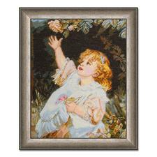 """Gobelinbild """"Out Of Reach"""" nach Frederick Morgan Meisterwerke großer Künstler als Gobelinbild."""