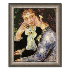 """Gobelinbild """"Vertrauen"""" nach Pierre-Auguste Renoir Meisterwerke großer Künstler als Gobelinbild."""