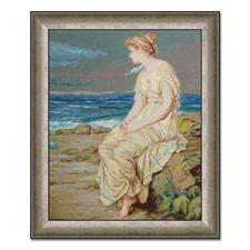 """Gobelinbild """"Der Sturm von Shakespeare"""" nach John William Waterhouse Meisterwerke großer Künstler als Gobelinbild."""