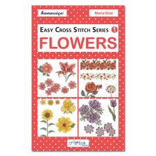 """Kreuzstich-Mustersammlung """"Blumen"""" Stickbücher für Ihre eigenen kreativen Stickideen."""