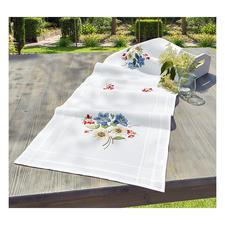 Tischläufer, 40 x 100 cm, Alpenblumen