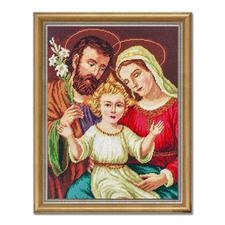 Gobelinbild - Heilige Familie Trassierte Gobelins - für besonders plastische Stickbilder.