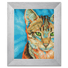 """Stickbild """"Tabby-Katze"""" Tierisch gut – Alles rund um die Katze."""